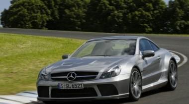 Mercedes-Benz SL65 AMG Black Series. Черный принц