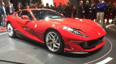 Самый мощный Ferrari показали в Женеве