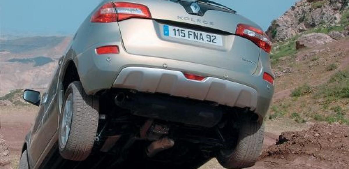 «Дни внедорожника» в Renault Musa Motors