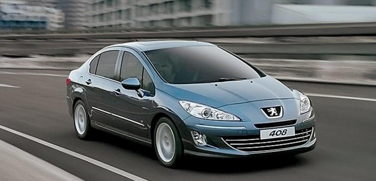 Peugeot 408. Китайская тянучка
