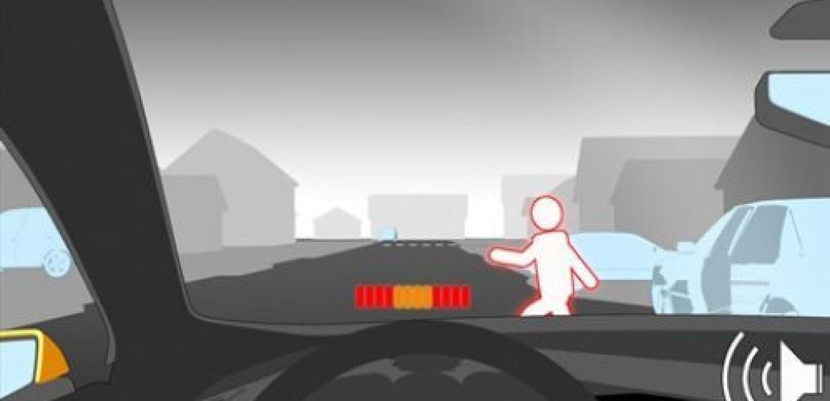 Технологии Volvo заботятся о здоровье пешеходов