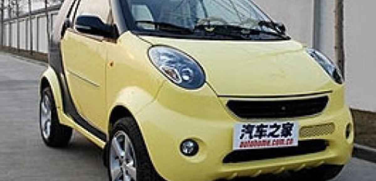 Китайцы снова «украли» автомобиль