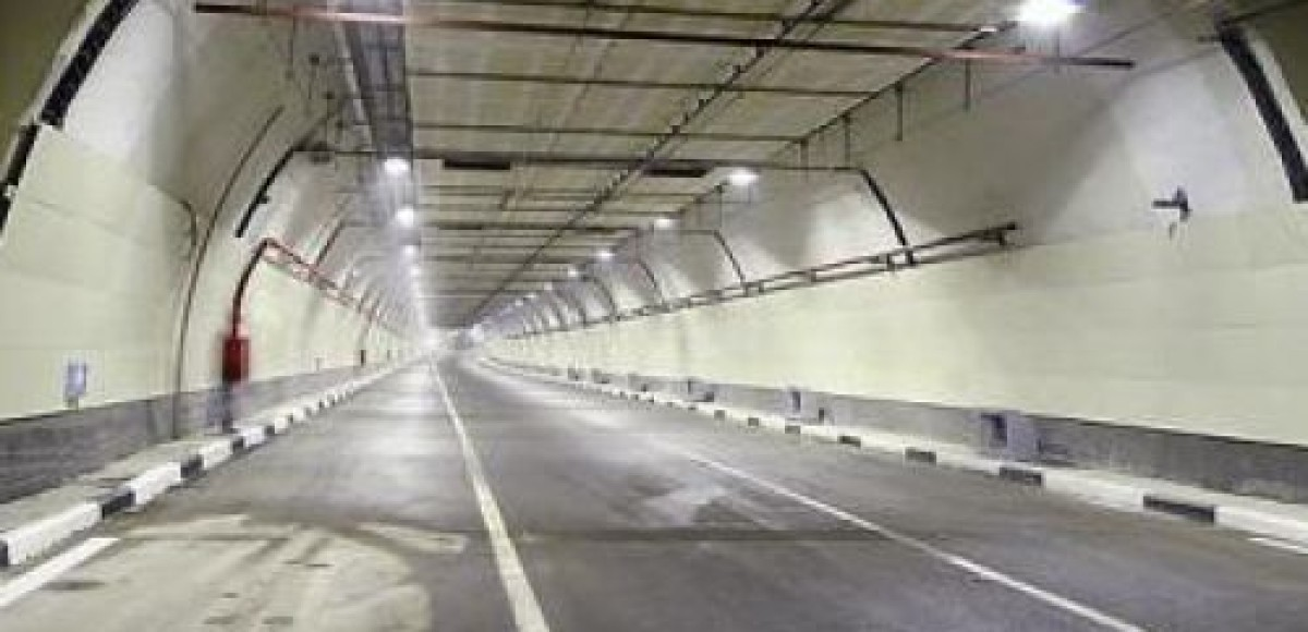Частично перекрыто движение по Серебряноборскому тоннелю