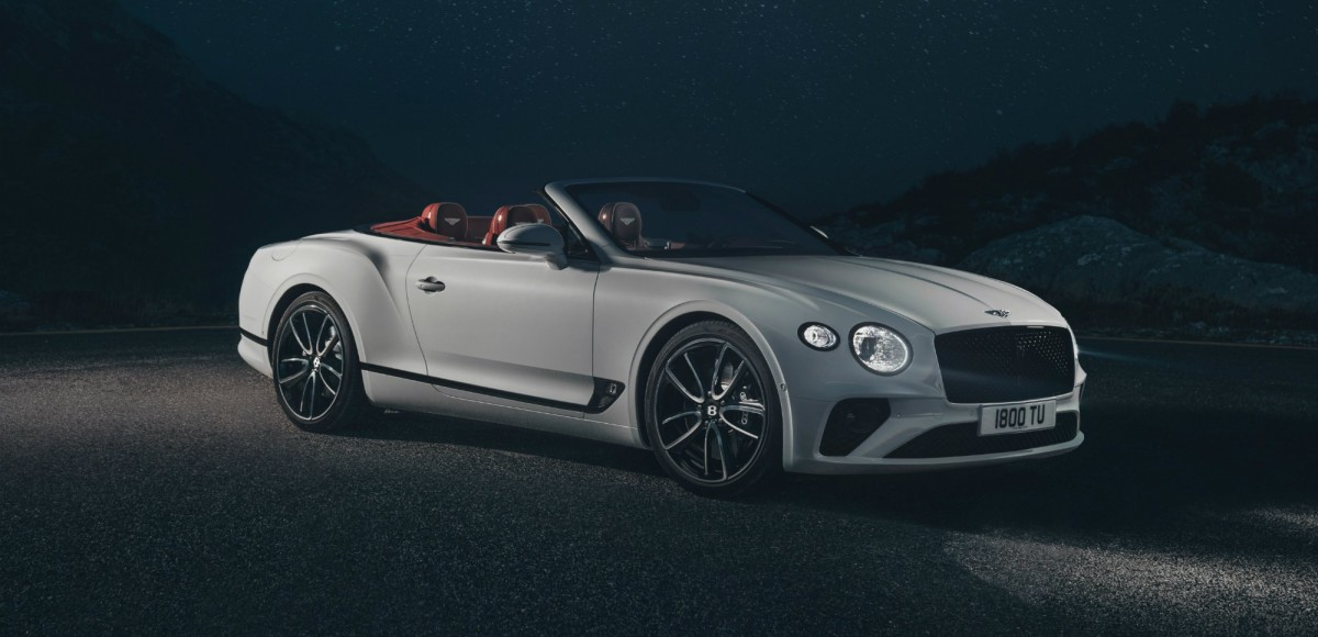 "Bentley Continental GT Convertible: 19 секунд и ""твидовая"" крыша"