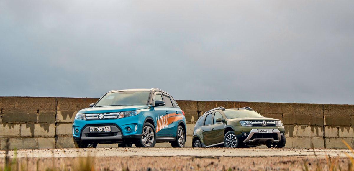 Renault Duster против Suzuki Vitara. Несостоявшееся убийство
