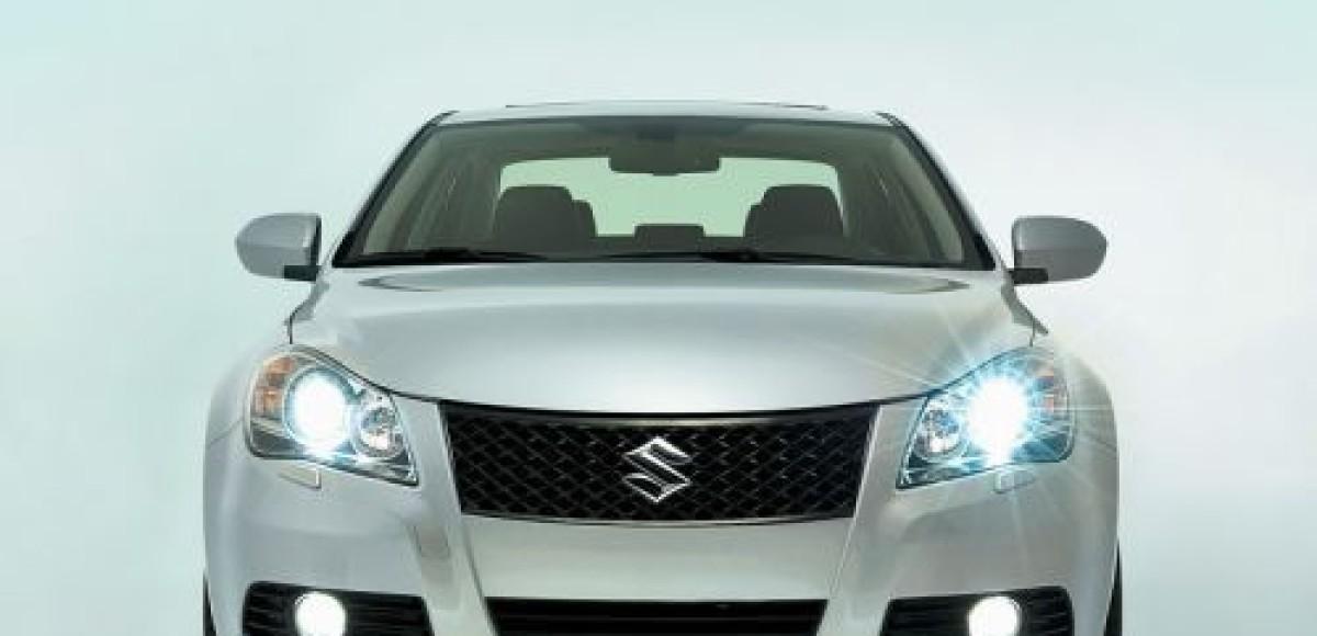Suzuki представит серийный седан Kizashi на автосалоне в Чикаго
