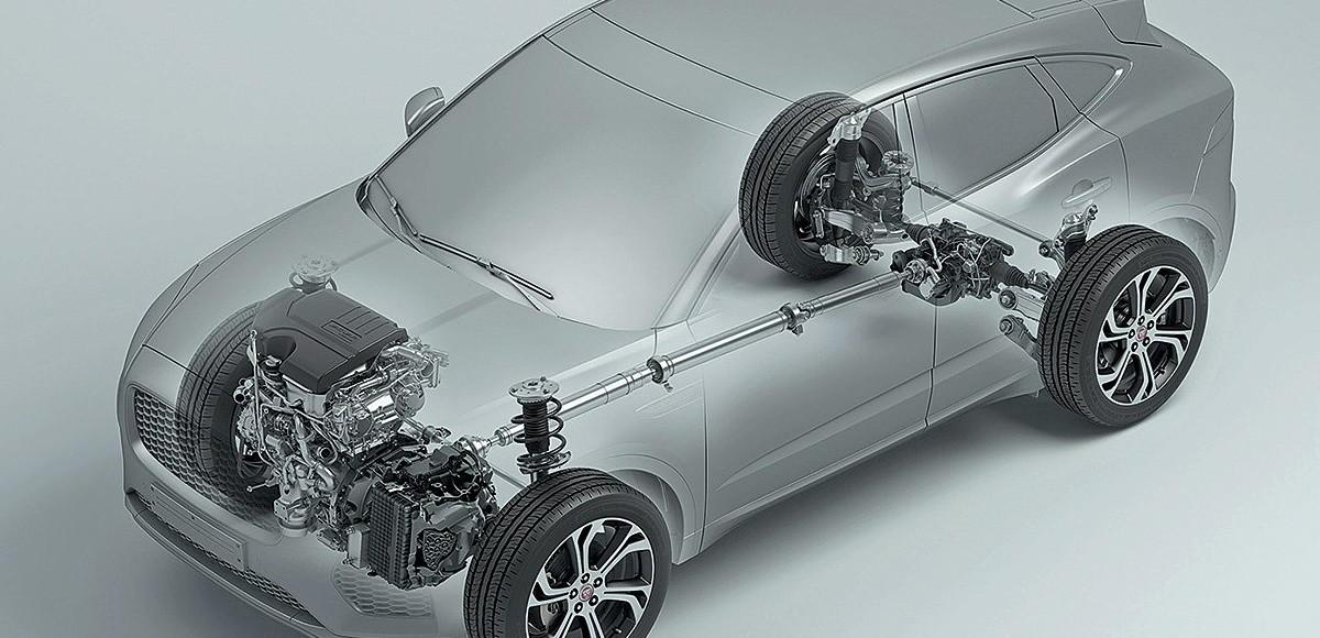 Технологии полного привода: как работает система Jaguar Active Driveline