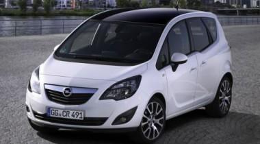 Opel показал новую версию популярного компактвэна Meriva