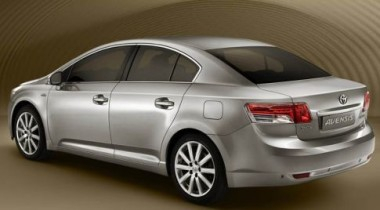На автосалоне в Париже Toyota представит новый седан Avensis