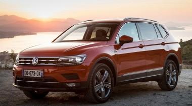 У Volkswagen Tiguan  в России появится новая версия