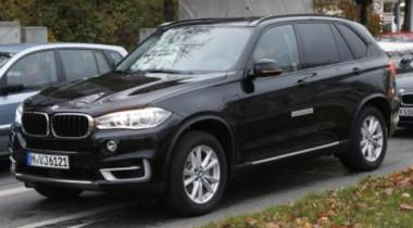 Фотографы засняли BMW X5 e-Drive