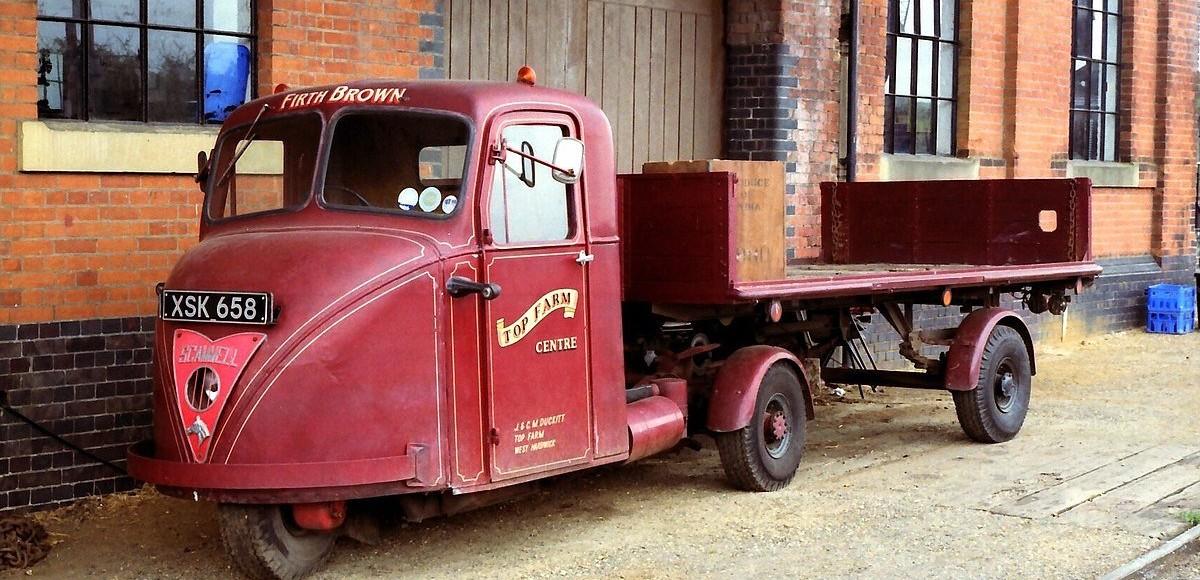 Трехколесные грузовики: от послевоенной Европы, до СССР и Китая