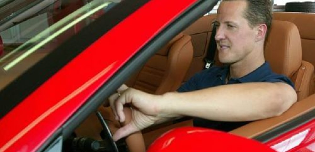 Михаэль Шумахер продолжает сниматься в рекламных роликах