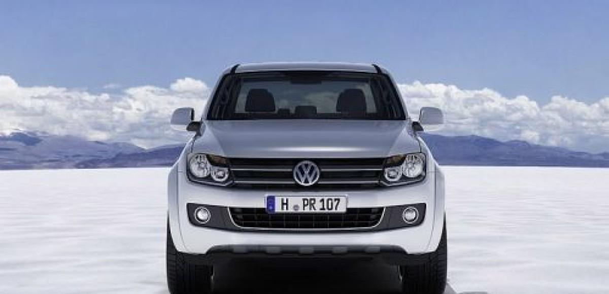 В 2010 году на российском рынке появится пикап Volkswagen Amarok