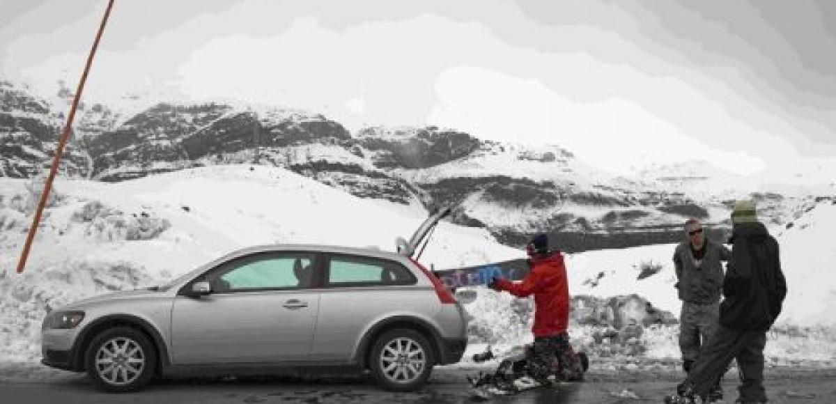 Volvo поддерживает экстремальный спорт