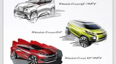 Mitsubishi покажет в Женеве 3 концепта