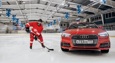 Audi A4 Sport Line. Вне игры