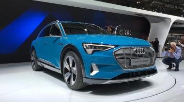 E-Tron — первый электрический кроссовер Audi