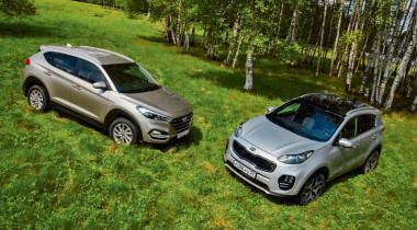 Hyundai Tucson против Kia Sportage. Период расцвета