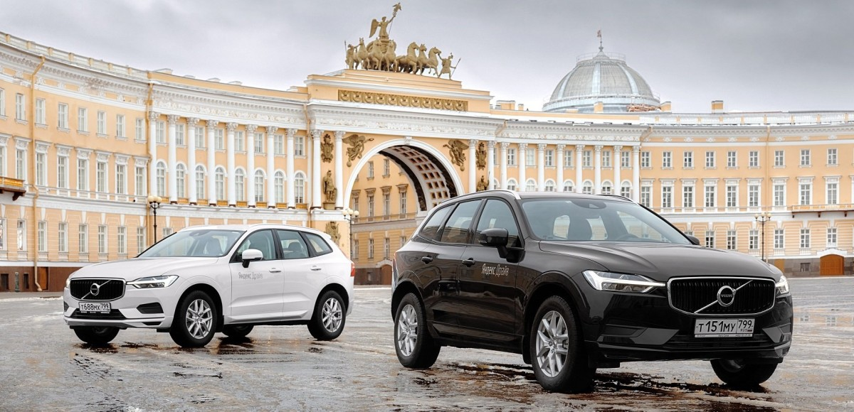 «Яндекс Драйв» закупил Volvo XC60