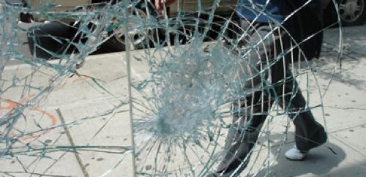Хулиганы повредили Lexus Александры Марининой