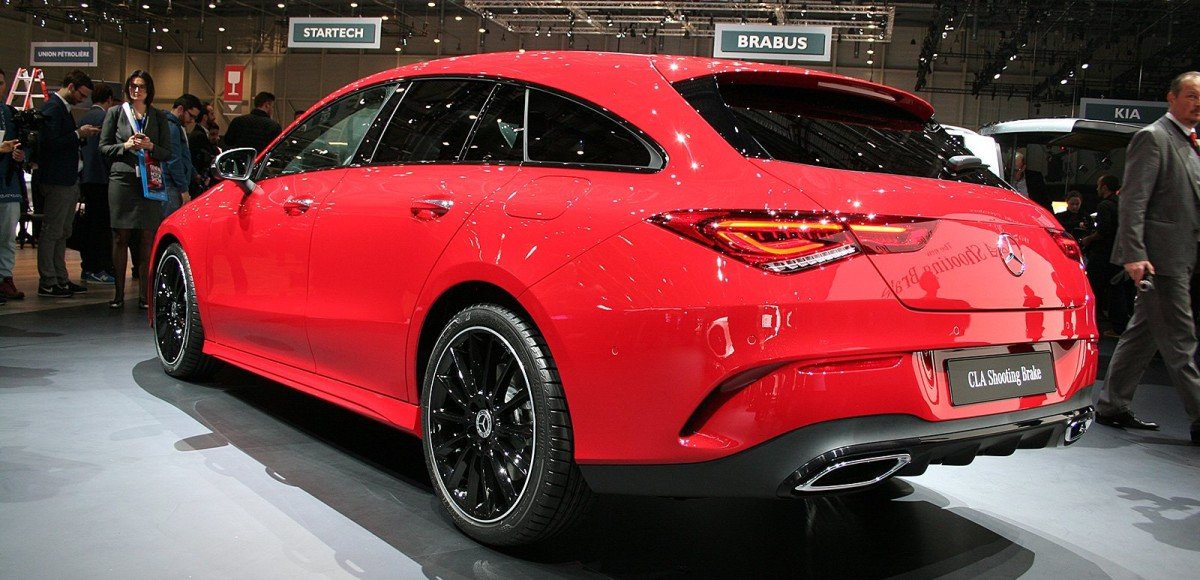 Mercedes-Benz CLA Shooting Brake: уже в сентябре