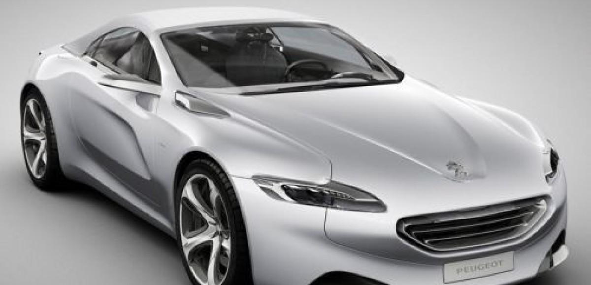 Peugeot SR1 Concept. Новый стиль