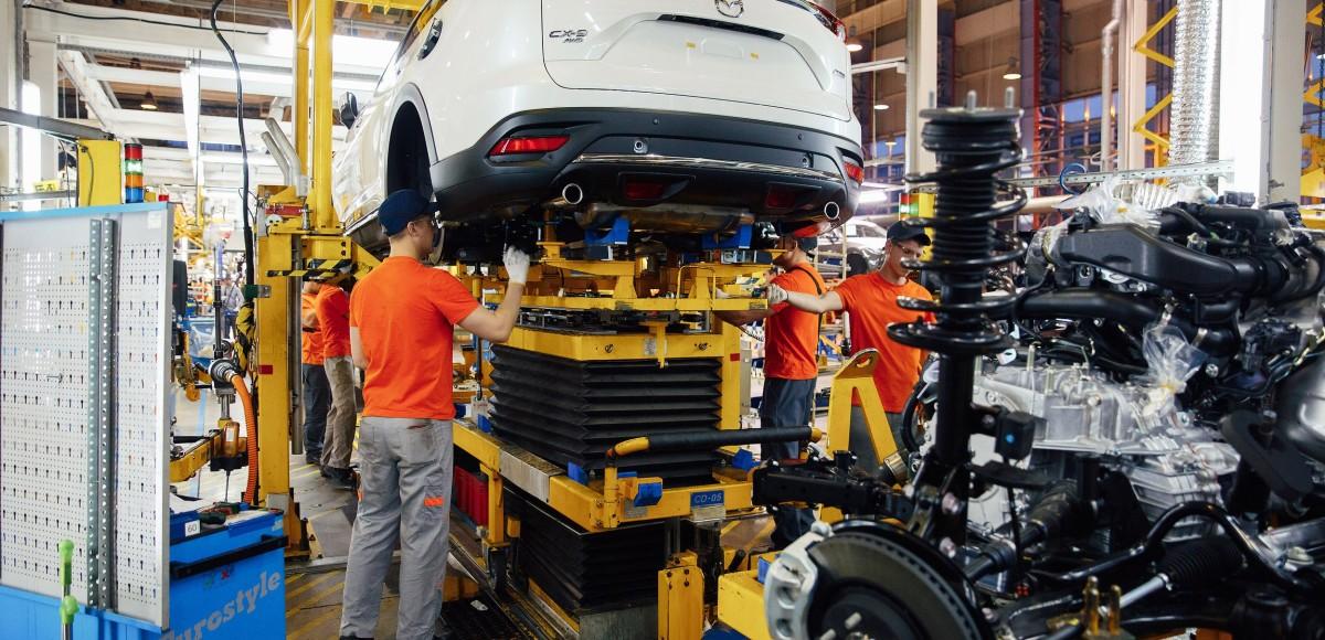 Во Владивостоке стартовало производство Mazda CX-9