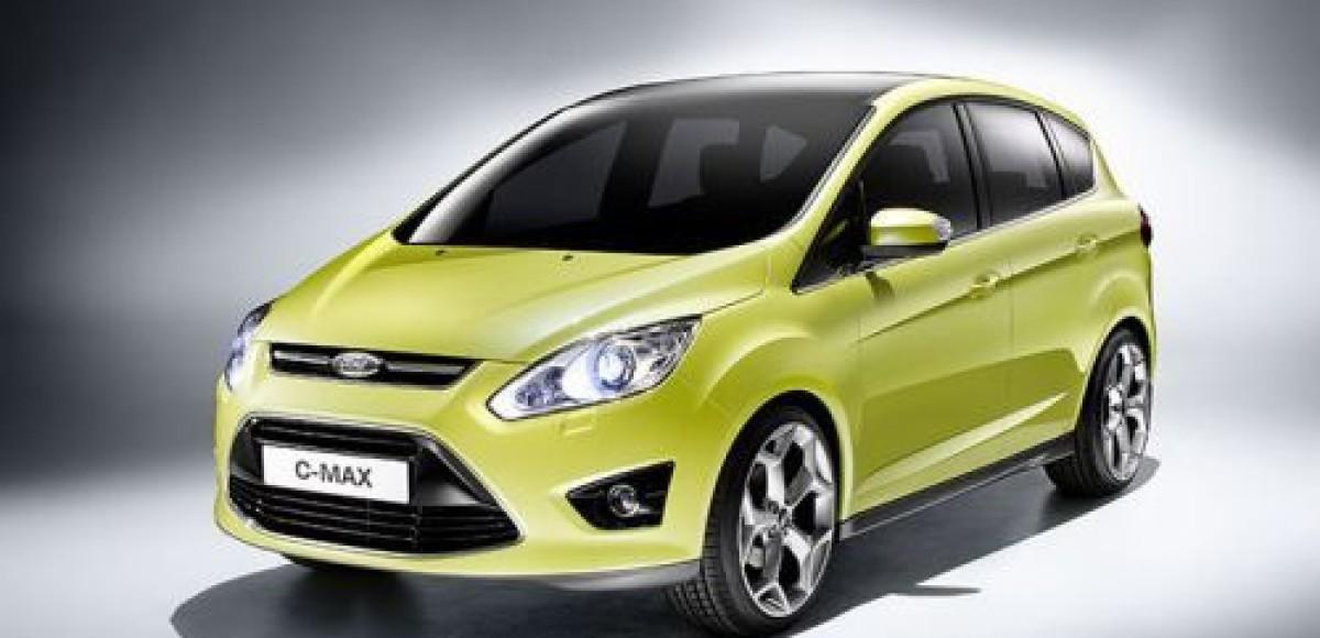 Ford опубликовал первые фотографии C-MAX нового поколения
