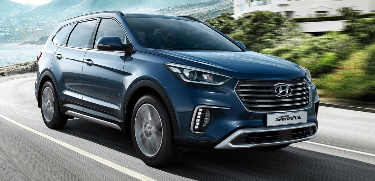 Hyundai представил лимитированную серию Grand Santa Fe