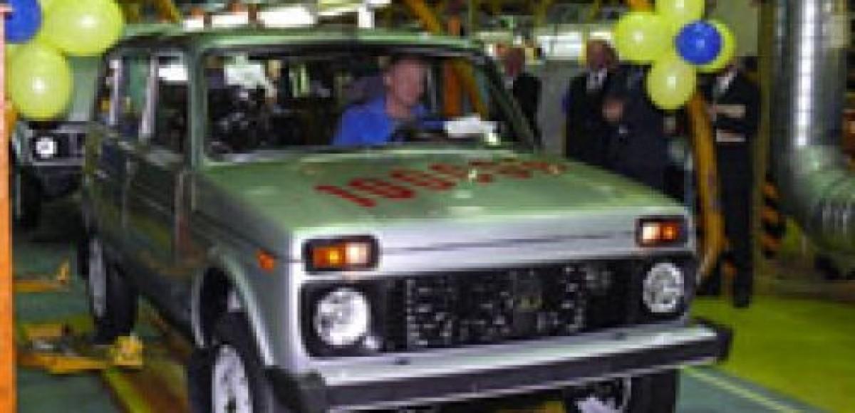 На АВТОВАЗе собрана 100-тысячная пятидверная Lada 4×4