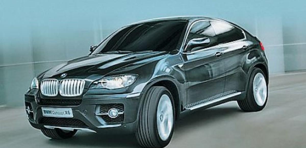 BMW X6. Купе для бездорожья