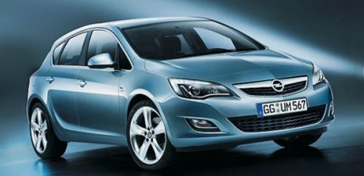 Opel Astra. Статическое напряжение