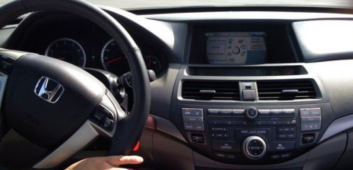 2008 Honda Accord. Вид изнутри