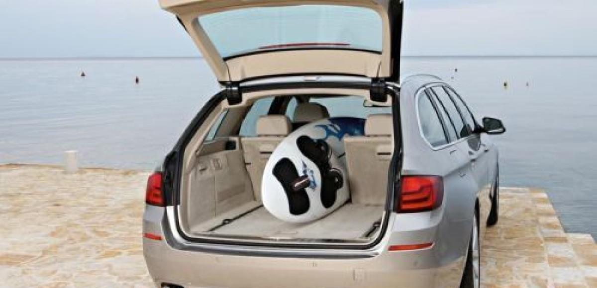 BMW представляет универсал пятой серии — BMW 5-Series Touring