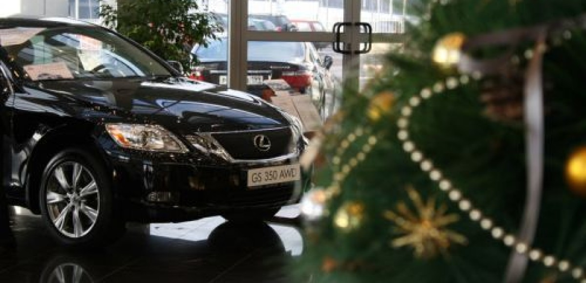 «СП БИЗНЕС КАР». Репетиция Нового года с Lexus GS 350 AWD