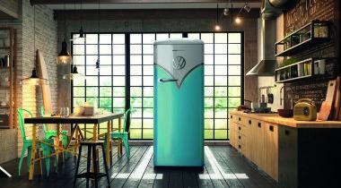 «Ностальгический» холодильник от Volkswagen