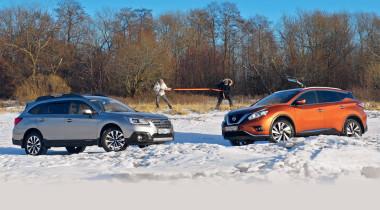 Nissan Murano против Subaru Outback. Вопрос риторический