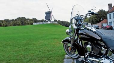 Harley-Davidson Heritage Softail Classic. Из ряда вон