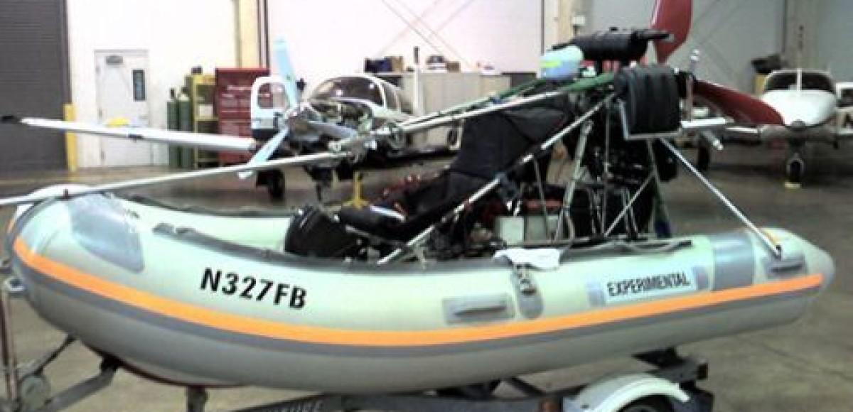 Flying Inflatable Boat. Альбатрос с бензиновой душой