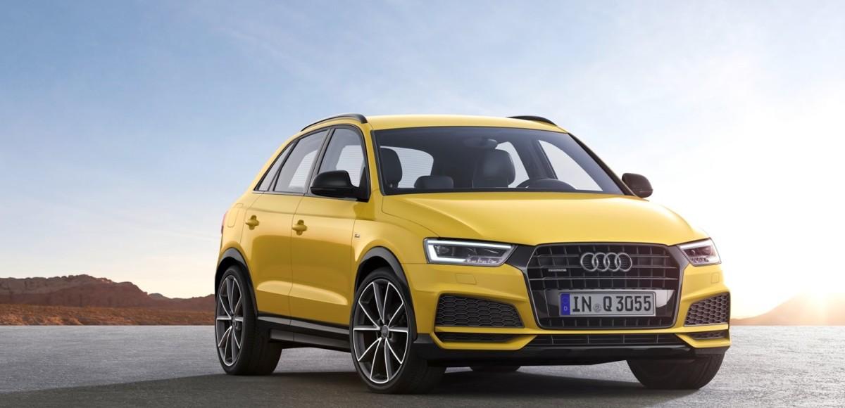 Audi Q3 обновился и подорожал