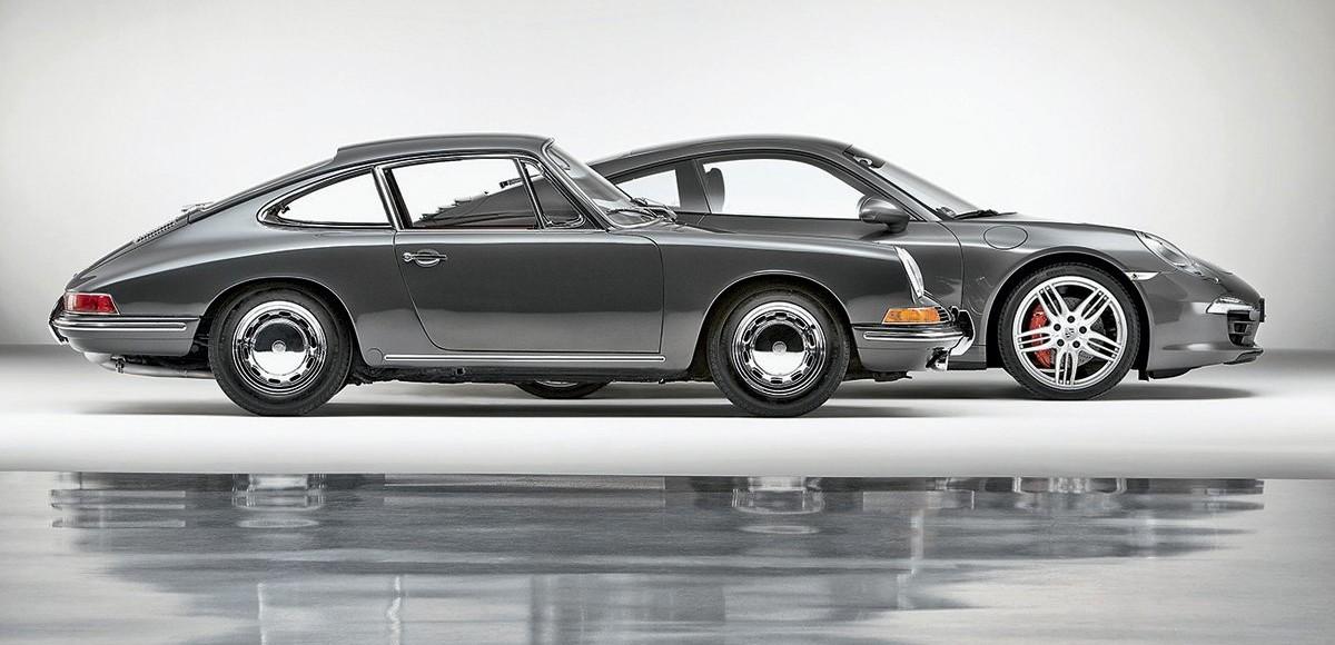 Эволюция легенды: Porsche 911