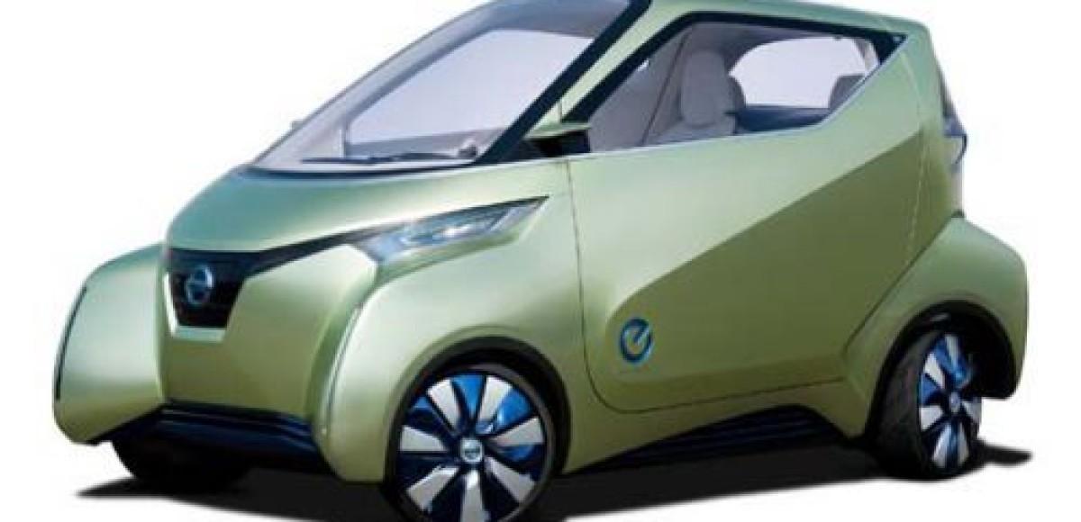 Компания Nissan покажет в Токио электромобиль Pivo 3