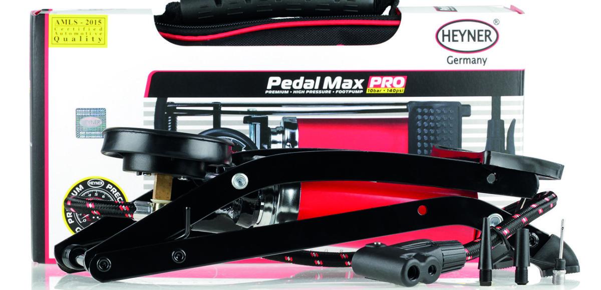 PedalMax Pro: насос-победитель от HEYNER