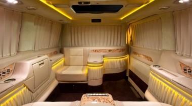 VIP-офис на базе Mercedes- Benz Viano