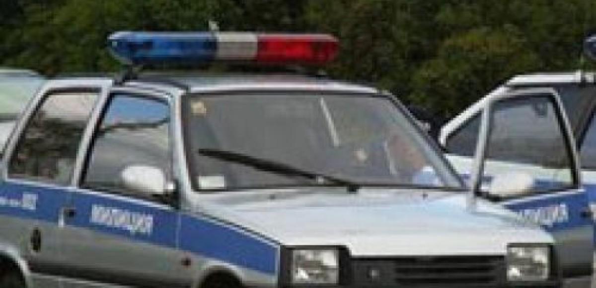 В Москве ищут милицейскую машину, скрывшуюся с места ДТП