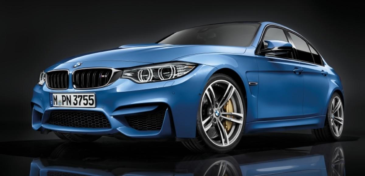 BMW официально представила новые седан M3 и купе M4