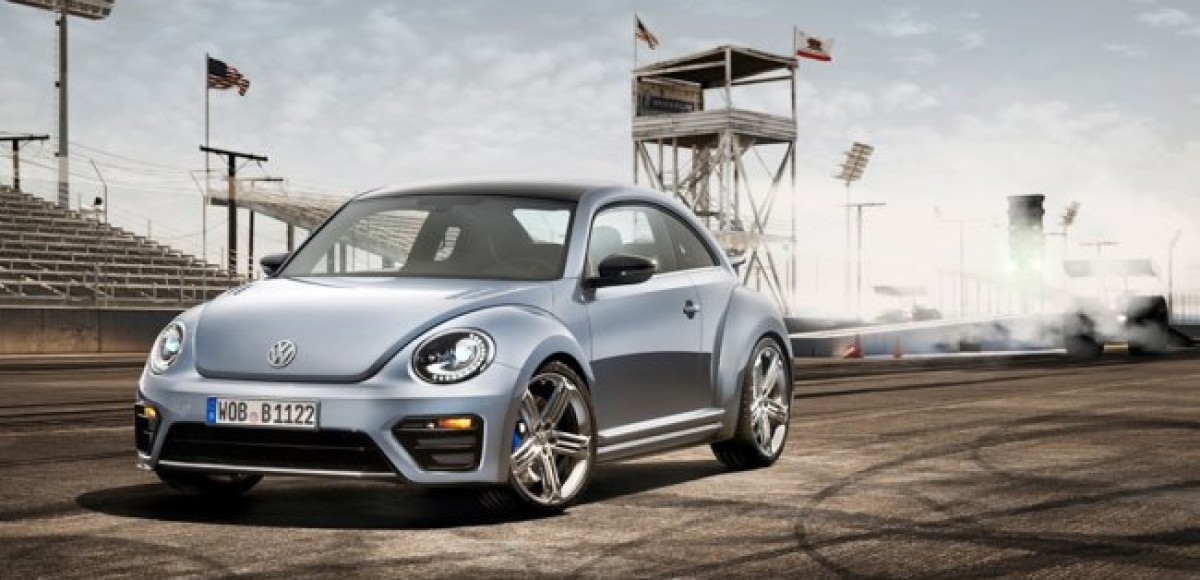 Премьера нового концепт-кара Volkswagen Beetle R в США