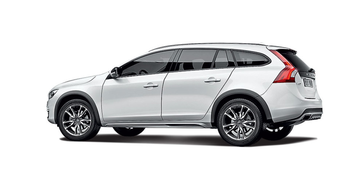 Volvo V60 Cross Country. Костюмер
