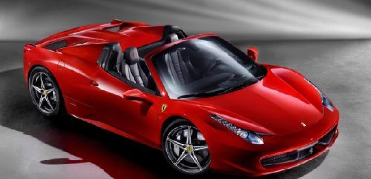 Ferrari представила миру новый среднемоторный родстер 458 Italia